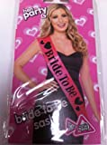 Bride To Be Hen Party Sash Pink & Black