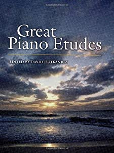 Great Piano Etudes Masterpieces By Chopin Scriabin Debussy Rachmaninoff And Others from Dover Publications