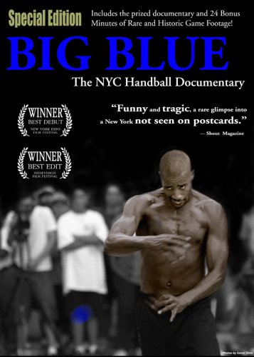Cover art for  BIG BLUE - The NYC Handball Documentary