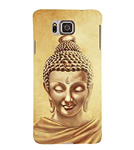 Lord Buddha Design 3D Hard Polycarbonate Designer Back Case Cover for Samsung Galaxy Alpha G850