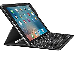 Logitech Backlit Keyboard Case with Apple Pencil holder and Smart Connector for iPad Pro 9.7 inch