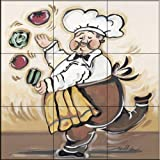 The Tile Mural Store - Service With A Smile II by Joy Alldredge - Kitchen Backsplash / Bathroom wall Tile Mural