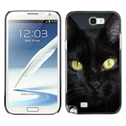 ikiki-tech-case-cover-housse-coque-etui-bombay-cat-breed-chartreux-black-samsung-galaxy-note-2-n7100