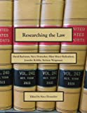 img - for Researching the Law book / textbook / text book