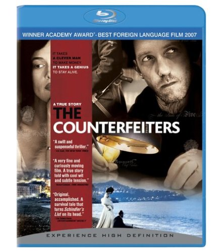 Cover art for  The Counterfeiters (+ BD Live) [Blu-ray]