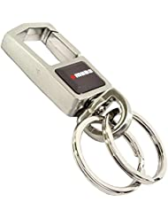 STAINLESS STEEL Keyring Keychain Key Ring Chain - 134