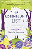 Natasha Solomons Mr. Rosenblum's List: Or Friendly Guidance for the Aspiring Englishman