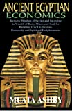img - for ANCIENT EGYPTIAN ECONOMICS Kemetic Wisdom of Saving and Investing in Wealth of Body, Mind, and Soul for Building True Civilization, Prosperity and Spiritual Enlightenment book / textbook / text book