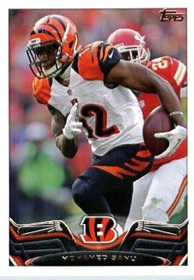 2013 Topps Football Card #254 Mohamed Sanu - Cincinnati Bengals - NFL Trading Cards