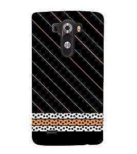 Dots Pattern 3D Hard Polycarbonate Designer Back Case Cover for LG G3 :: LG G3 D855
