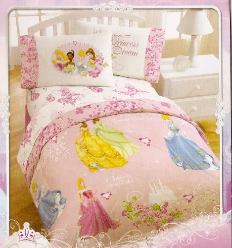 Disney- Princess Twin Comforter