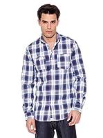 Pepe Jeans London Camisa Hombre Stoke (Azul)