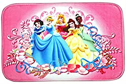 Baby Station Bathroom Floor Mat Doormat Rug Non Slip (Disney Princess)