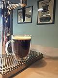 CoastLine Kitchen Insulated Double Wall Glass Coffee Mug Set | Coffee Mugs Set of 2 | 11.8 Ounces Each | Durable, Stylish, Dishwasher & Microwave Safe | CoastLine Lifetime Warranty - No Risk!