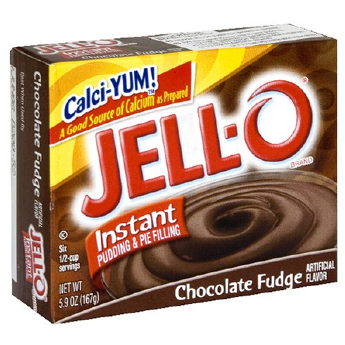Buy Jell-O Instant Pudding & Pie Filling, Chocolate Fudge, 5.9-Ounce Boxes (Pack of 24) (JELL-O, Health & Personal Care, Products, Food & Snacks, Baking Supplies, Pie & Cobbler Fillings)