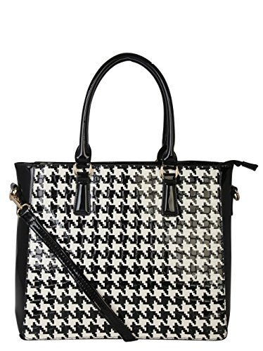 rimen-co-top-handle-patent-houndstooth-print-two-tone-three-top-pocket-zippersnap-closure-fashion-st