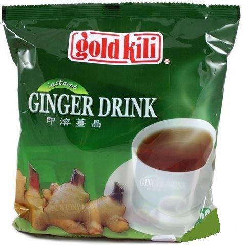 Chinese Ginger drink, Ginger tea Gold Kili (20 Sachets) Best Quality. APPROVED UK DISTRIBUTOR AND WHOLESALER