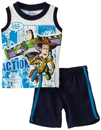 Disney Baby-Boys Infant Toy Story Action 2 Piece