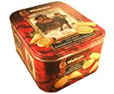 Walkers Imported Scottish Pure Butter Assorted Shortbread Cookies 58.4 Ounce Christmas Holiday Gift Tin Present