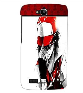 Printdhaba Playboy D-1337 Back Case Cover For Huawei Honor Holly