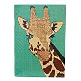 Rose Hill Giraffe Portrait A5 Notebook