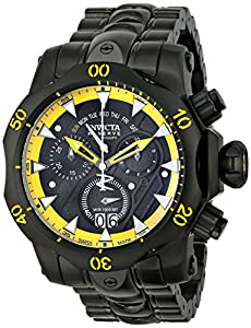 Invicta 1602 Reserve Men's Venom Stealth Swiss Chronograph Watch