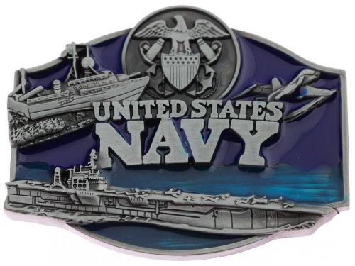 US Navy Patriotic Military Metal Belt Buckle