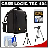 Case Logic TBC-404 Compact High Zoom Digital Camera Case with Tripod + Accessory Kit
