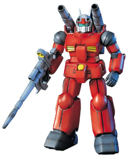 "Bandai Hobby HGUC 1/144 #1 RX-77-2 Gun Cannon ""Mobile Suit Gundam"" Model Kit"