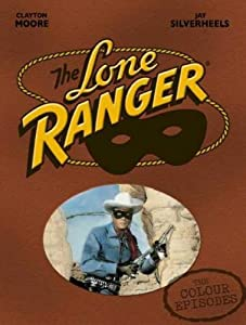 The Lone Ranger - The Colour Episodes - Boxset 5 DVD - Import Zone 2 UK (anglais uniquement) [Import anglais]