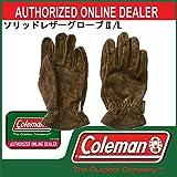 Coleman(コールマン) ソリッドレザーグローブ;/L (170-9507)