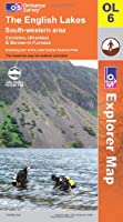 The English Lakes: South Western Area OL6 Paper (OS Explorer Map Series) by Ordnance Survey