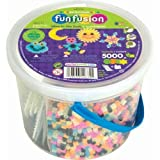Perler Fun Fusion Fuse Bead Bucket, Glow in The Dark – $8.87!