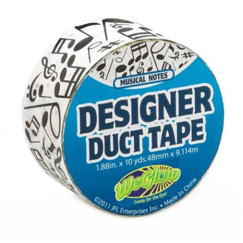 WeGlow International Musical Notes Designer Duct Tape (10-Yards)