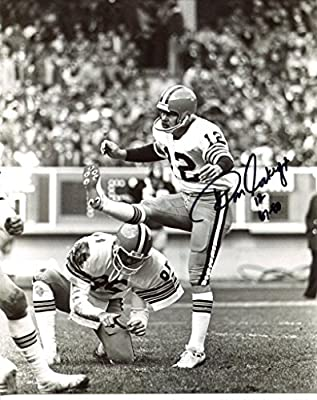 Don Cockroft signed Cleveland Browns 8X10 photo -Comes with a Certificate of Authenticity * Autographed Football Photos #2