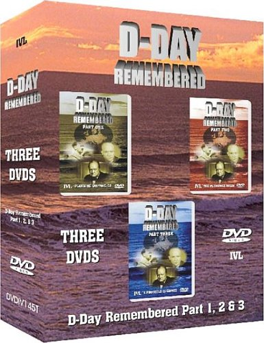 D-Day Remembered - Parts 1, 2 and 3 [Box Set] [Import anglais]