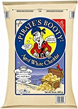 Pirate39s Booty Aged White Cheddar 16 Ounce 453g Resealable Bag Rice amp Corn Puffs