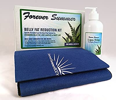 Belly Fat Reduction Body Wraps to Lose Belly Fat. Get rid of Belly Fat with this Weight Loss Gel and Sauna Belt.