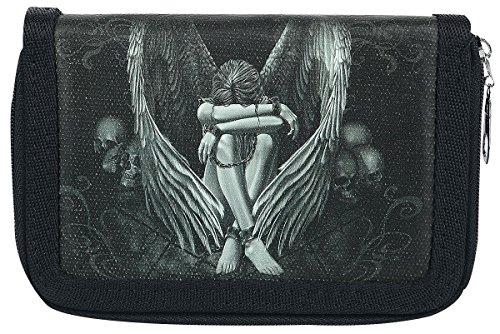 Spiral Enslaved Angel Portafoglio nero/grigio/bianco