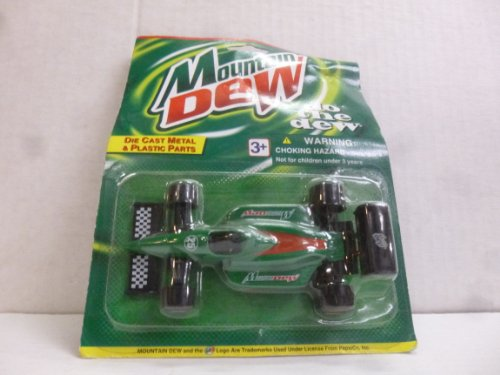 Mountain Dew Golden Wheel Die Cast Car - 1
