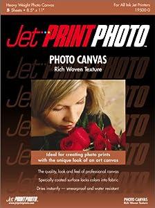 Jet Print Photo Canvas Paper