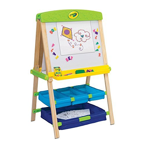 Grow'n Up Crayola Draw'n Store Wood Easel Playset by Grow'n Up (Draw Wood compare prices)