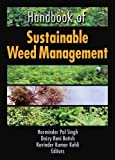 Handbook of Sustainable Weed Management (Crop Science)
