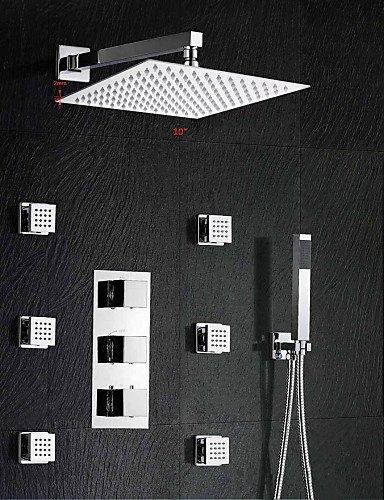 platz 10 regendusche thermostatmischer ventil handdusche einstellen. Black Bedroom Furniture Sets. Home Design Ideas