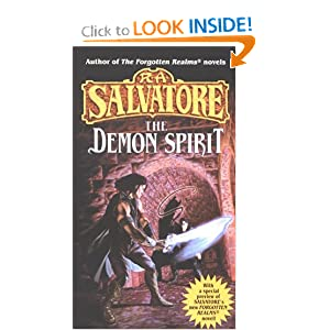 The Demon Spirit (The DemonWars Trilogy, Book 2) by R.A. Salvatore