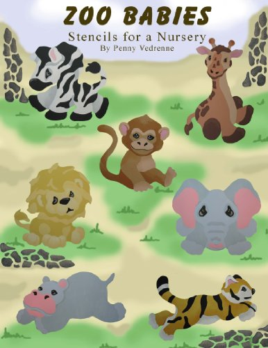 Zoo Babies: Stencils for a Nursery