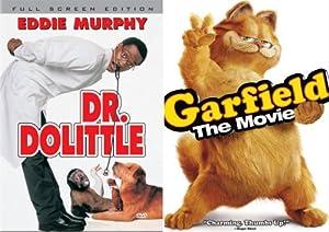 amazoncom doctor dolittlegarfield the movie breckin