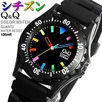 [シチズン]CITIZEN Q&Q 腕時計 メンズ レディース カラーウォッチ ウレタンベルト VP02-907  [国内正規品]