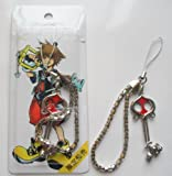 3 Kingdom Hearts Metal Key Blade Phone Charm Strap #7 ~Cosplay~
