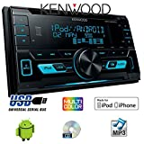 VW-Golf-6-VI-Kenwood-DPX-3000U-2DIN-USB-CD-MP3-Autoradio-Einbauset